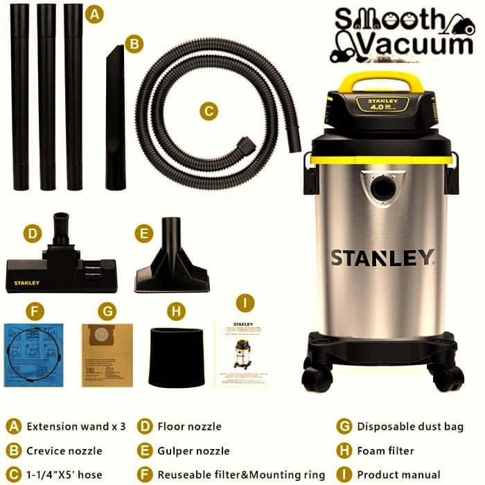 Stanley Wet Dry Vac accessories